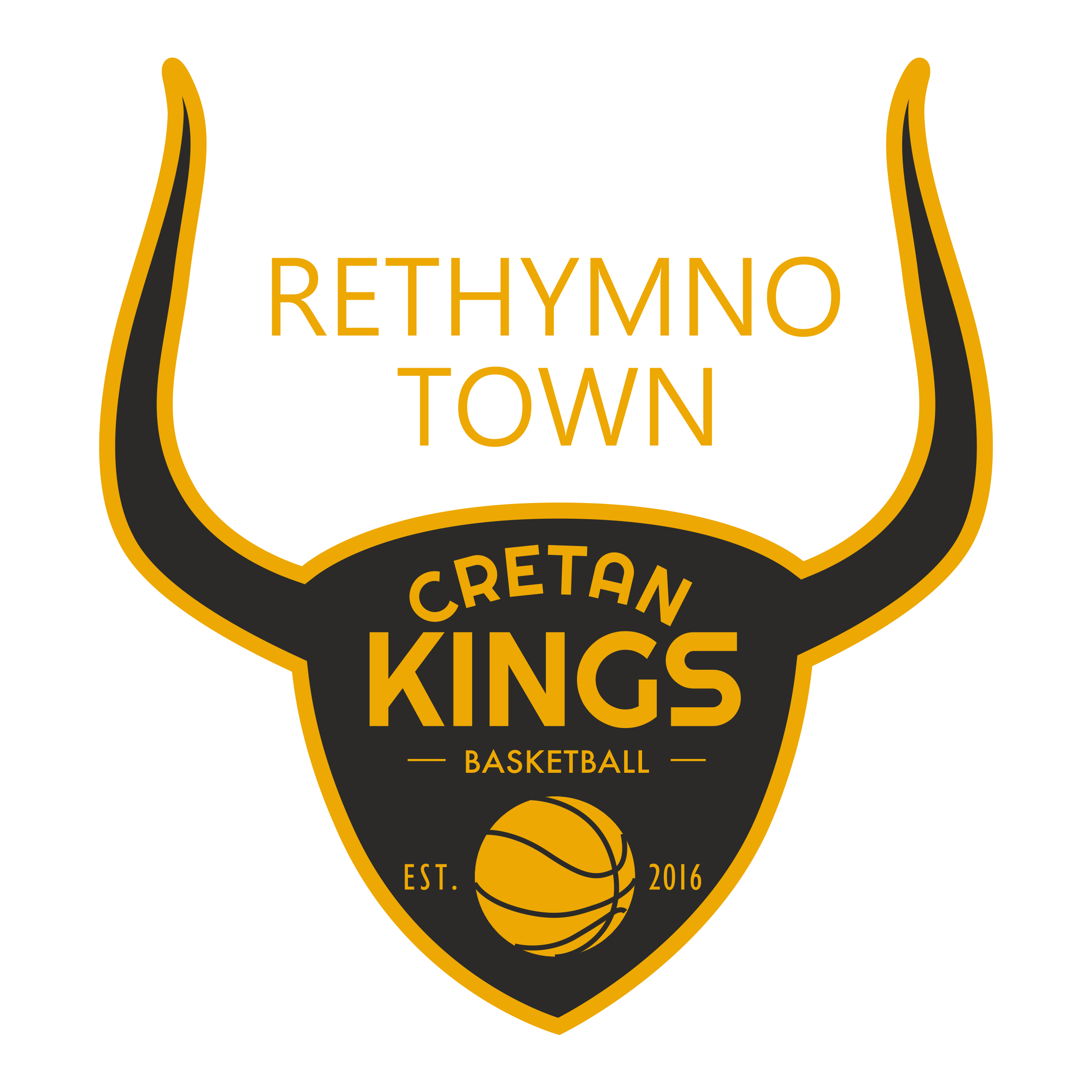 cretan kings logo yellow1